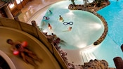 Loisirs disney 39 s davy crockett ranch h tels disneyland for Piscine davy crockett