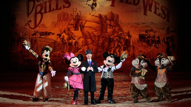 Buffalo Bill's Wild West Show...with Mickey & Friends!