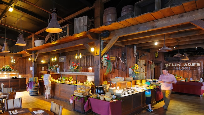 la grange billy bob 39 s country western saloon restaurant et r servation disneyland paris. Black Bedroom Furniture Sets. Home Design Ideas