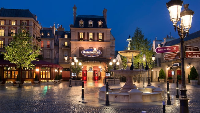 ratatouille the adventure disneyland paris entertainment. Black Bedroom Furniture Sets. Home Design Ideas