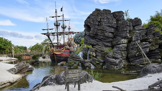 parc attraction pirate